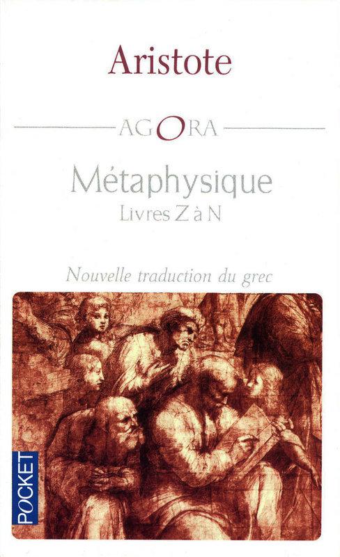 Métaphysique ; livres Z à N