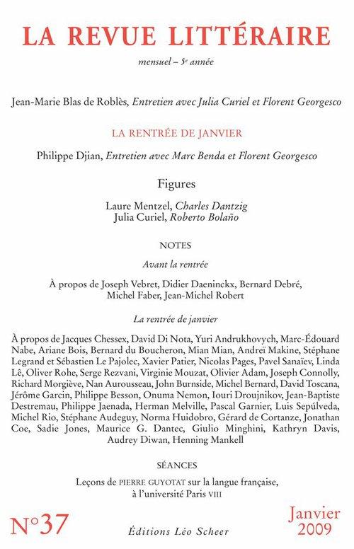 Collectif La Revue Littéraire n° 37