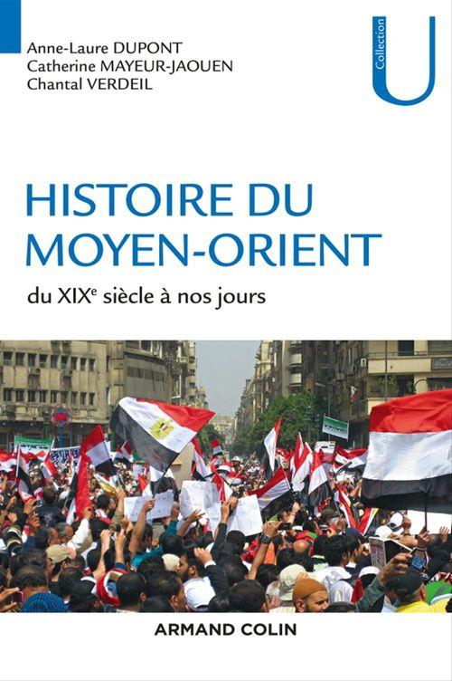 Anne-Laure Dupont Histoire du Moyen-Orient