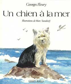 Georges Fleury Un chien à la mer
