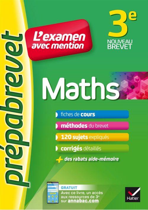 Caroline Bureau Maths 3e - Prépabrevet L'examen avec mention