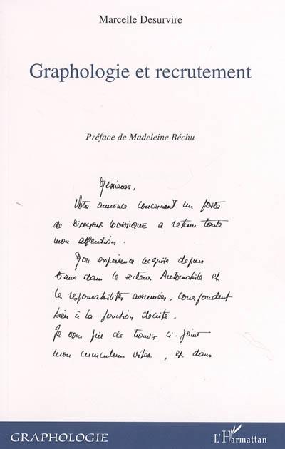 Marcelle Desurvire Graphologie Et Recrutement
