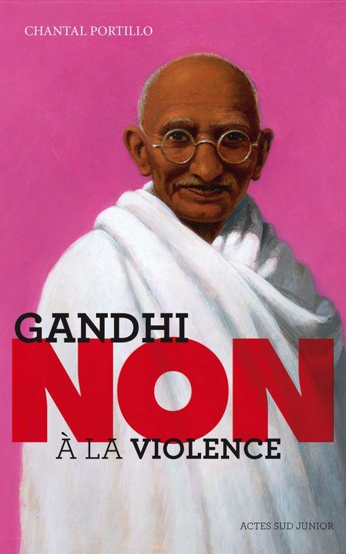 "Chantal Portillo Gandhi : ""Non à la violence"""