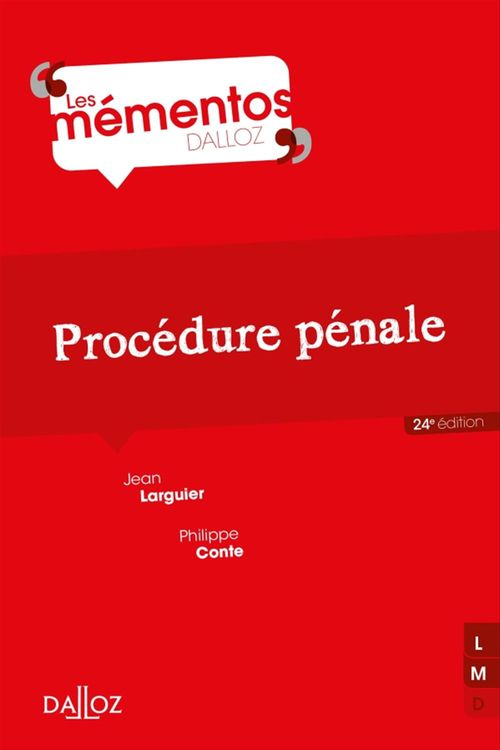 Jean Larguier Procédure pénale