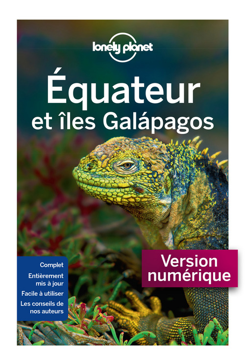 LONELY PLANET Equateur et Galapagos 4ed