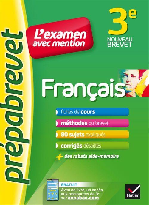 Christine Formond Français 3e - Prépabrevet L'examen avec mention