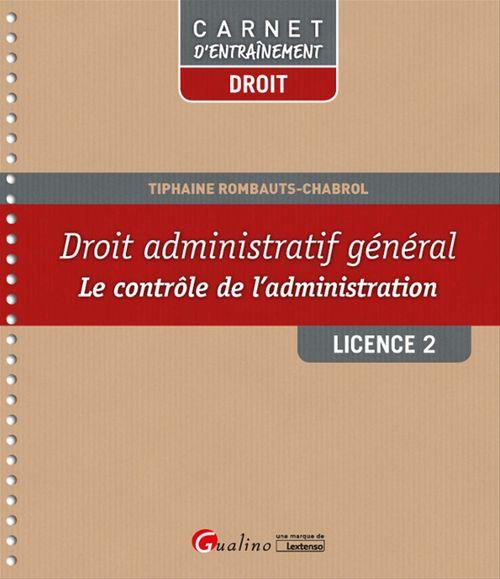 Droit administratif général - Licence 2 - 1e édition