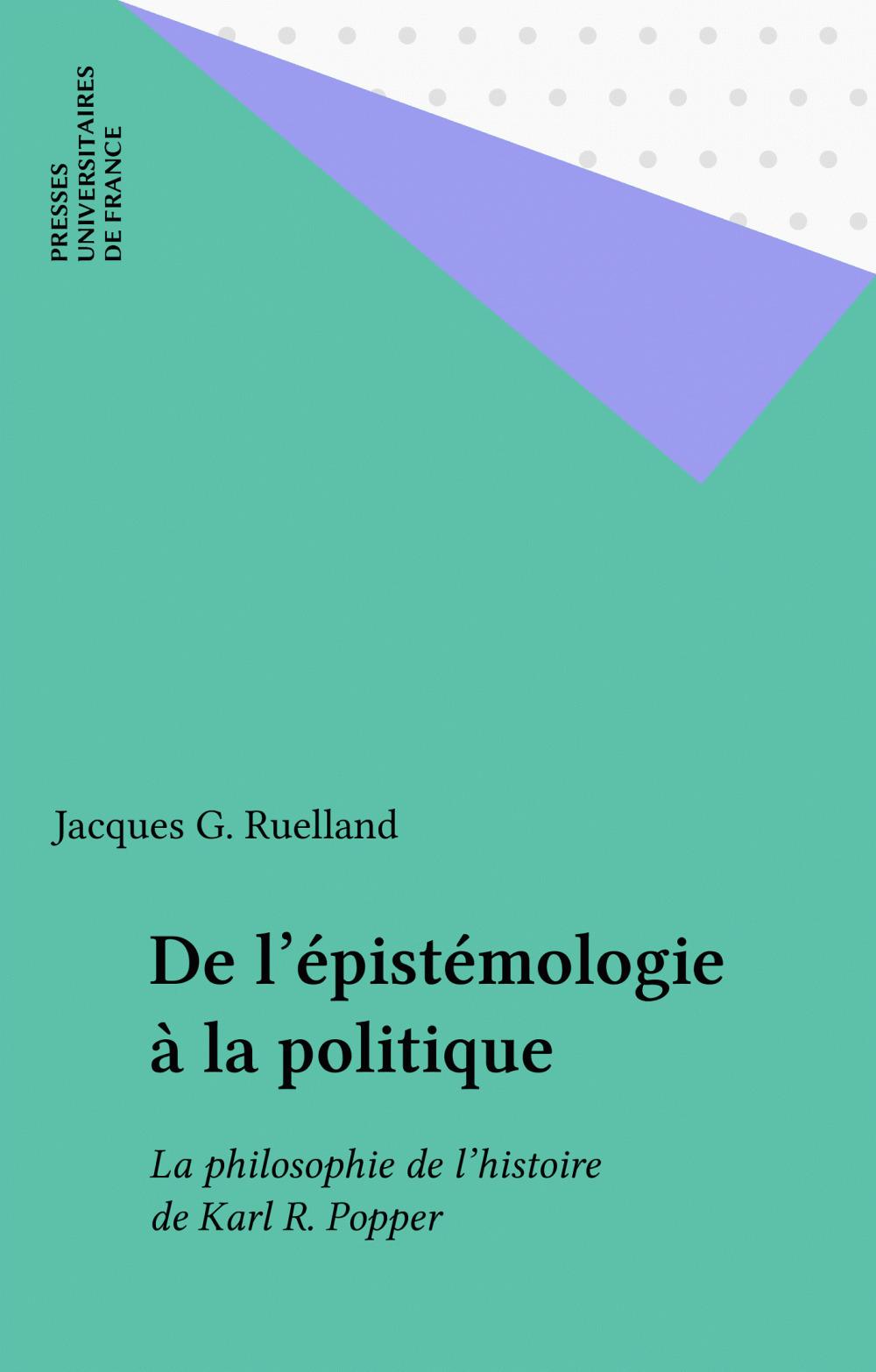 De l'épistémologie à la politique