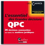 Dominique Rousseau L'essentiel des grandes décisions de la QPC
