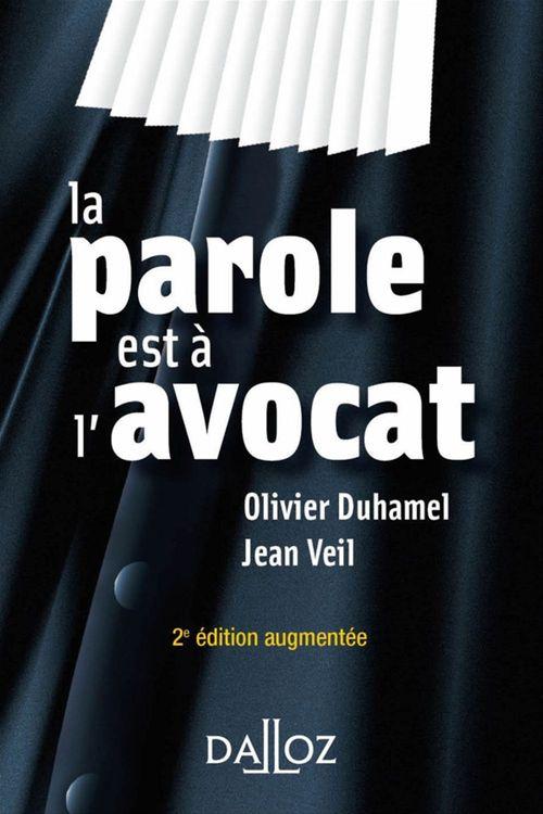 Olivier Duhamel La parole est à l'avocat