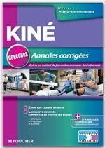 Annales corrigées concours d'entrée masseur-Kinésithérapeute