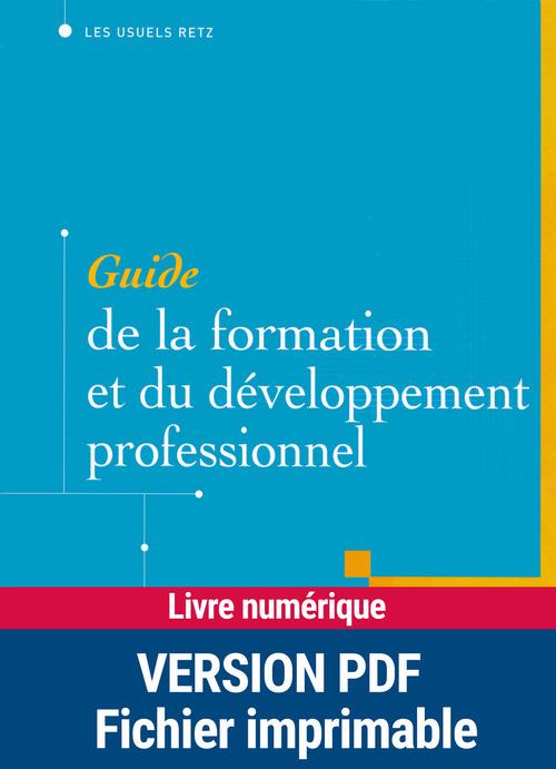 Edmond Marc Guide de la formation et du développement professionnel