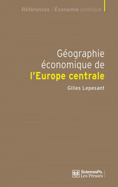 Géographie économique de l'Europe centrale