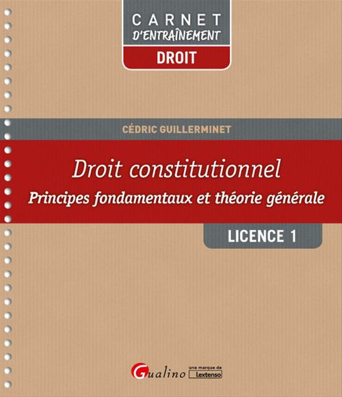Droit constitutionnel - Licence 1 - S1