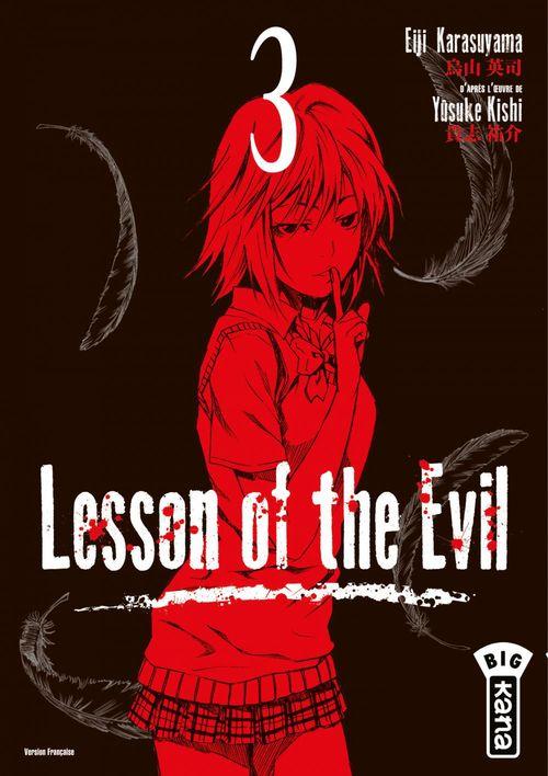 Yûsuke Yûsuke Kishi Lesson of the evil - Tome 3 - Lesson of the evil T3