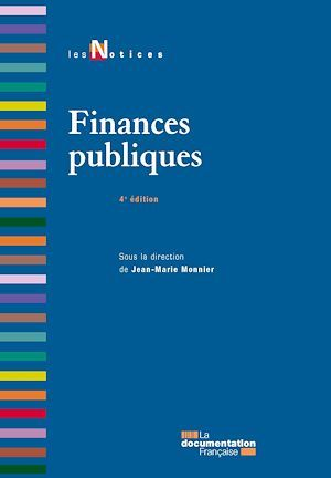Jean Marie Monnier Finances publiques