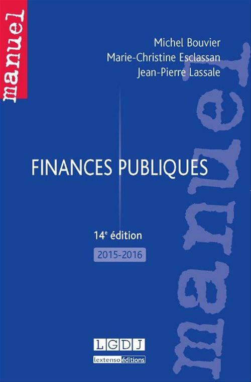 Michel Bouvier Finances publiques - 14e édition 2015-2016