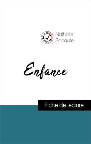 Analyse de l'oeuvre : Enfance (résumé et fiche de lecture plébiscités par les enseignants sur fichedelecture.fr)