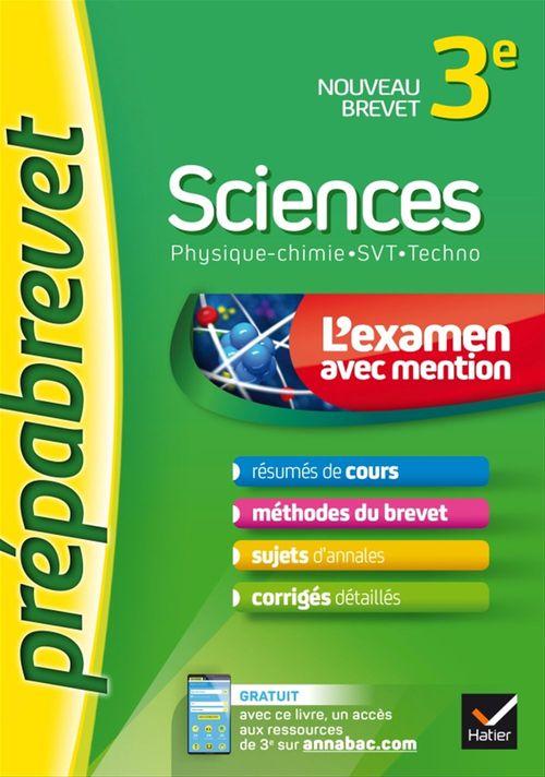 Gaëlle Cormerais Sciences 3e (Physique-chimie, SVT, Techno) - Prépabrevet L'examen avec mention