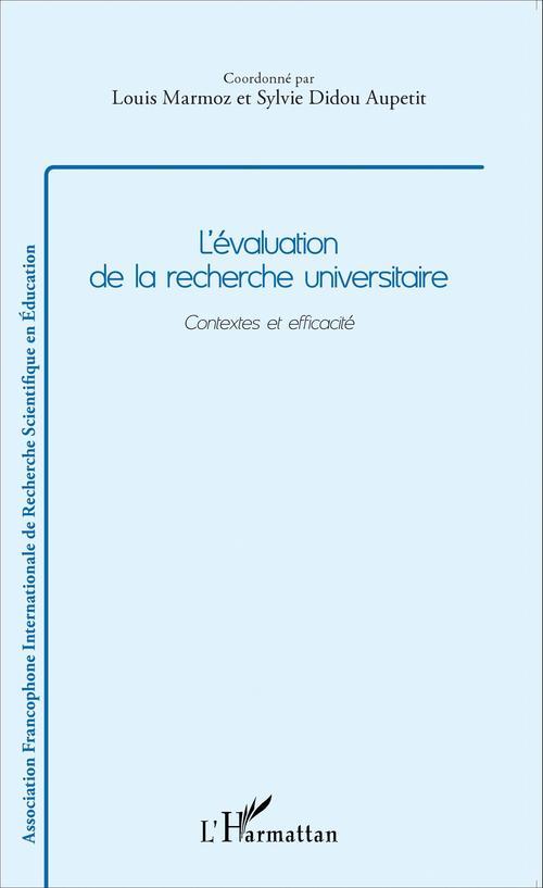 Louis Marmoz L'évaluation de la recherche universitaire