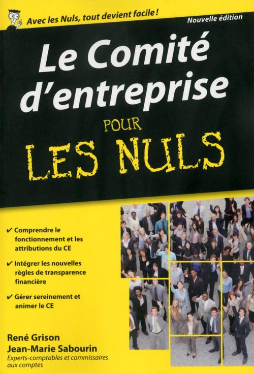 René GRISON Le Comité d'entreprise Poche Pour les Nuls