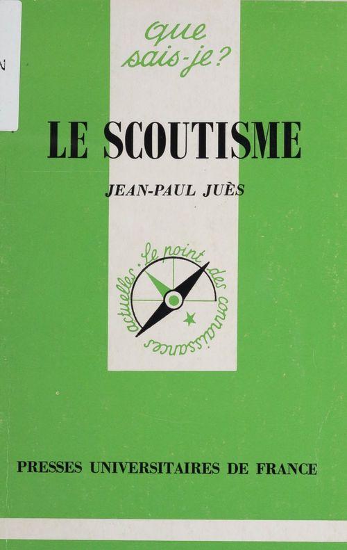 Jean-Paul Juès Le Scoutisme
