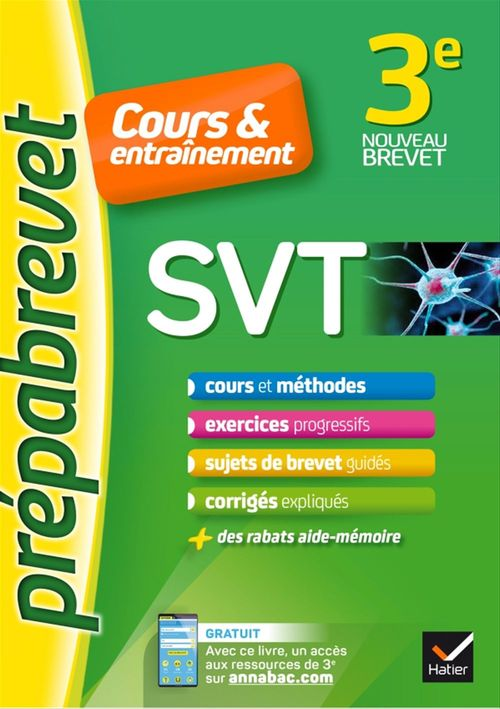 Fabien Madoz-Bonnot SVT 3e - Prépabrevet Cours & entraînement