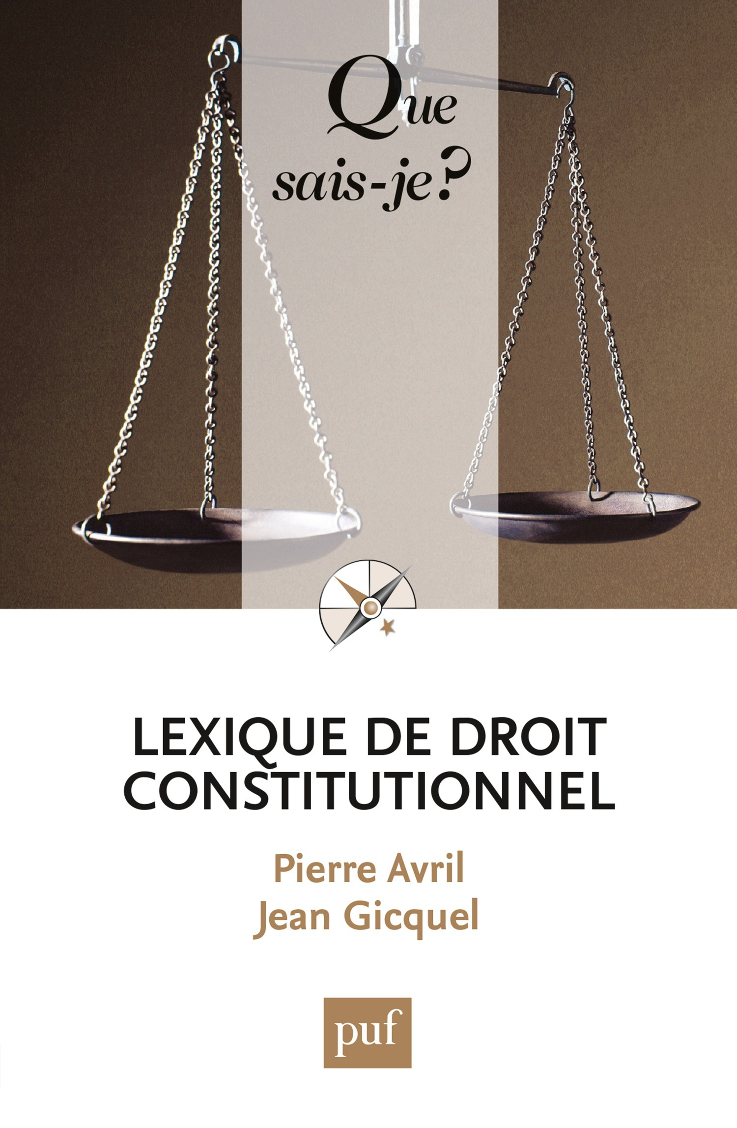 Jean Gicquel Lexique de droit constitutionnel