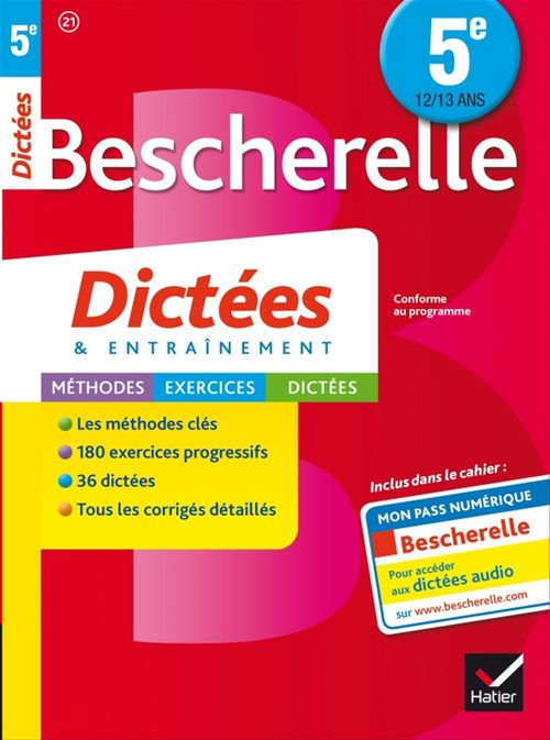Denis Anton Bescherelle Dictées 5e