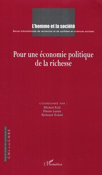 Collectif Pour une economie politique de la richesse