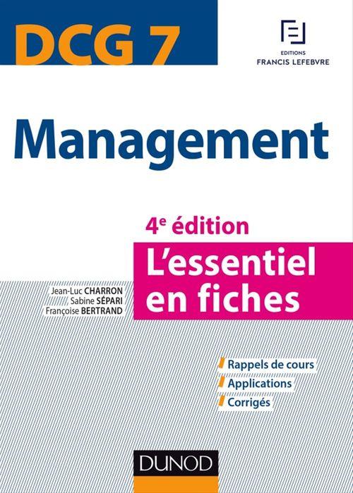 Sabine Sépari DCG 7 - Management - 4e éd.
