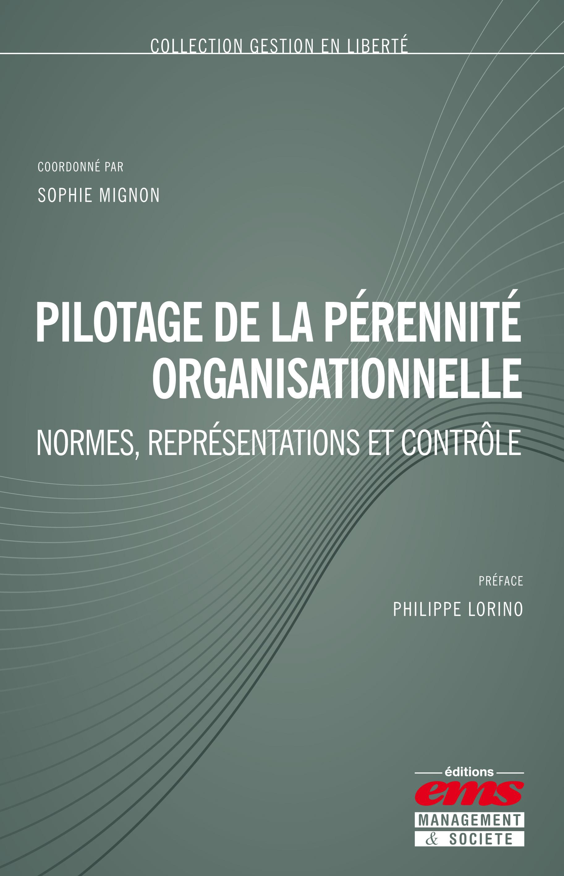 Sophie MIGNON Pilotage de la pérennité organisationnelle