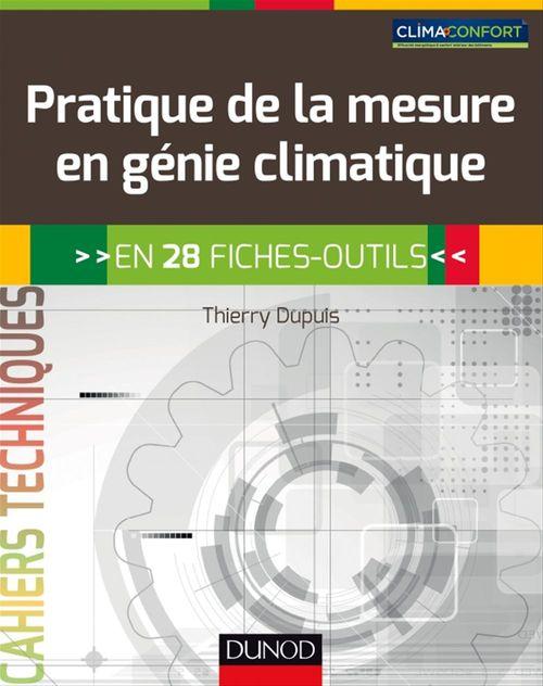 Thierry Dupuis Pratique de la mesure en génie climatique