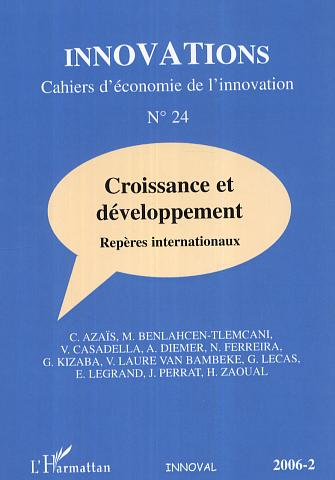 Collectif Croissance et developpement ; reperes internationaux
