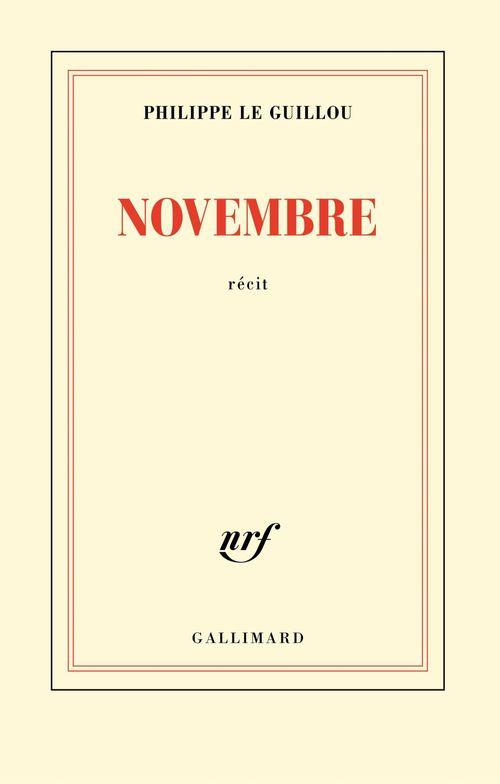 Philippe Le Guillou Novembre