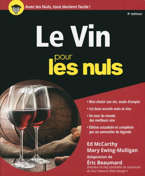 Éric BEAUMARD Le Vin pour les Nuls, 9e édition