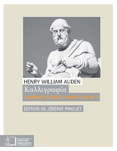 Henry William Auden Kalligraphia