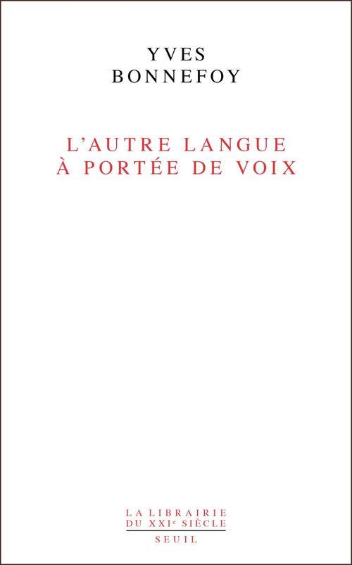 L'autre langue à portée de voix