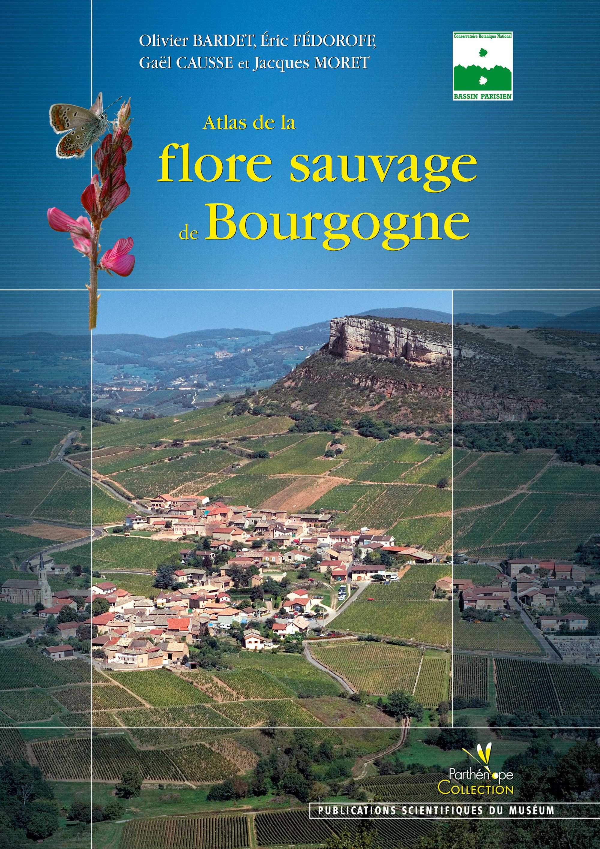 Olivier Barde Atlas de la flore sauvage de Bourgogne