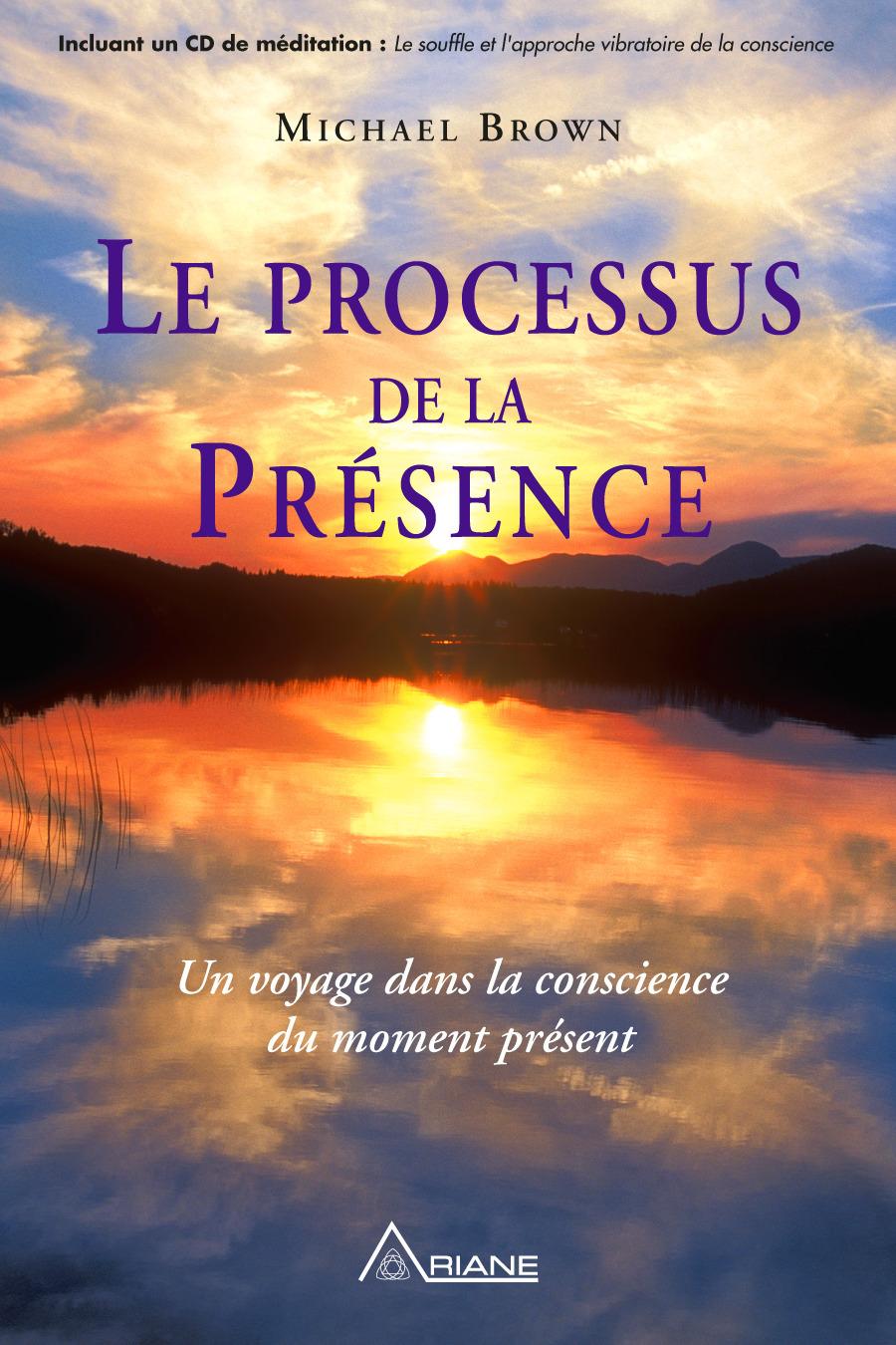 Michael Brown Le processus de la présence ; un voyage dans la conscience du moment présent