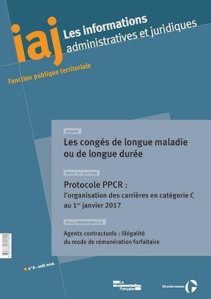 CIG Petite couronne IAJ : Les congés de longue maladie ou de longue durée - Août 2016
