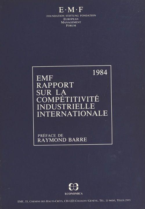 Rapport sur la compétitivité industrielle internationale