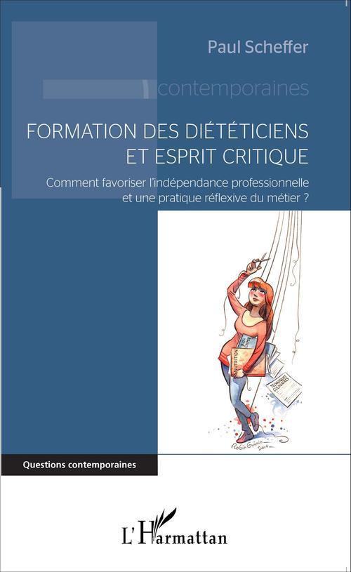 Paul Scheffer Formation des diététiciens et esprit critique