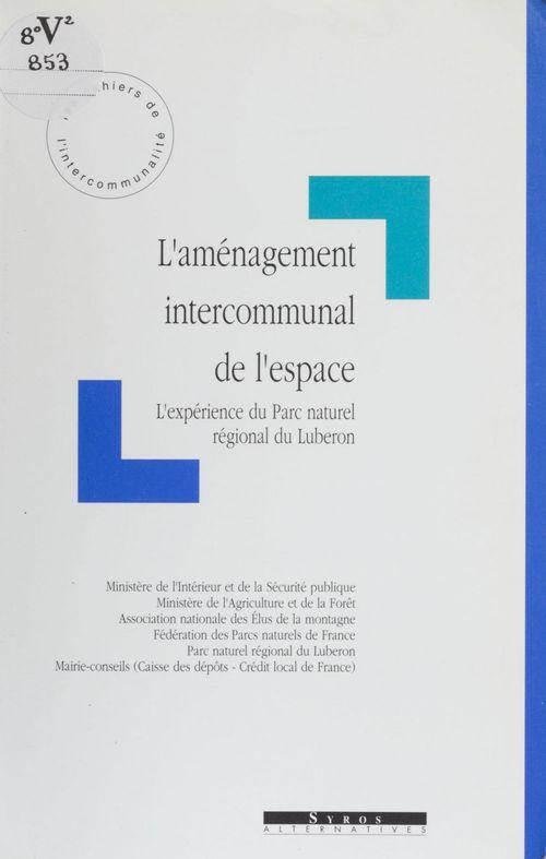 François Poulle L'Aménagement intercommunal de l'espace