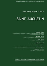 Philosophique 2005 ; Saint Augustin