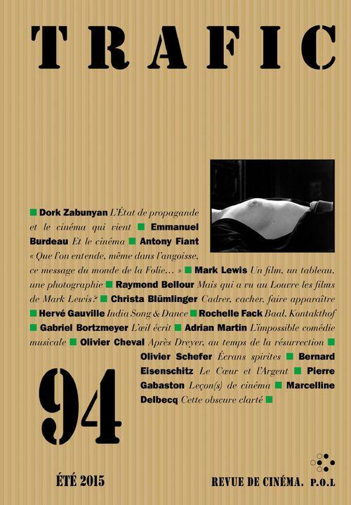 Collectifs Trafic N° 94 (Eté 2015)