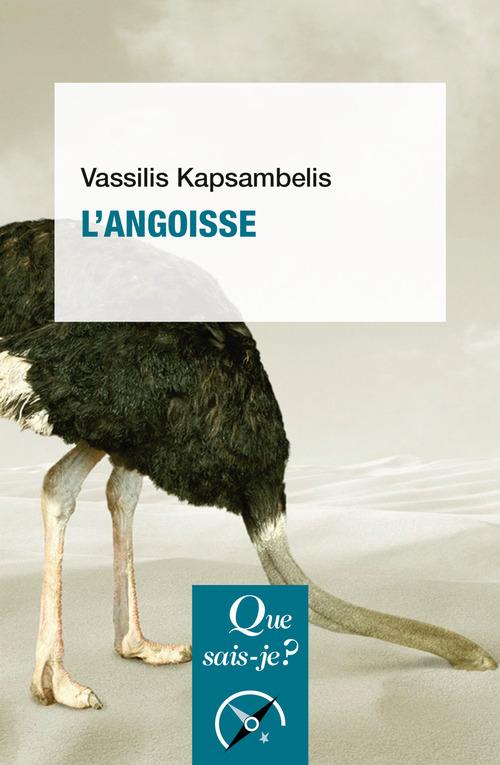 Vassilis Kapsambelis L'angoisse