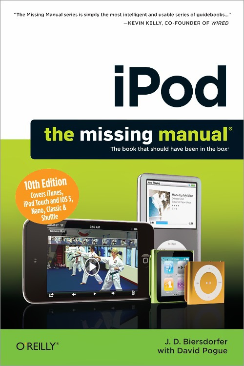 David Pogue IPod: The Missing Manual