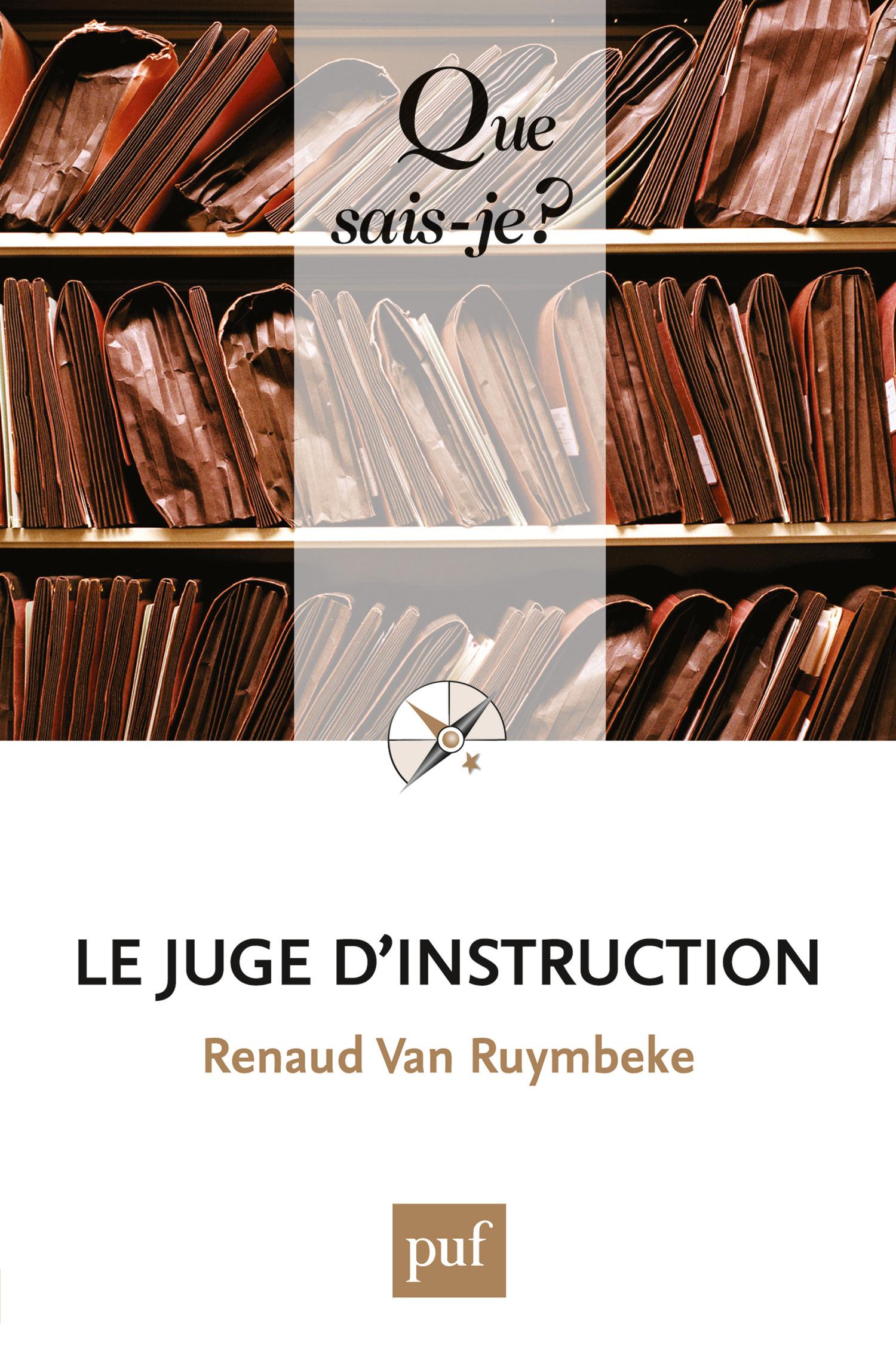 Le juge d'instruction (6e édition)