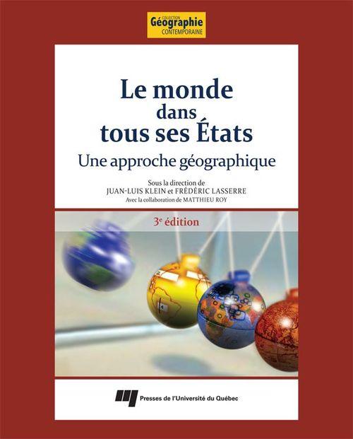 Juan-Luis Klein Le monde dans tous ses États, 3e édition